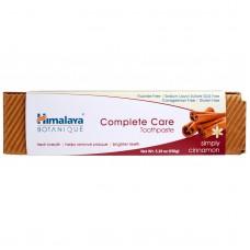 Himalaya Herbal Healthcare, Зубная паста для полного ухода за зубами, Simply Cinnamon (150 г)