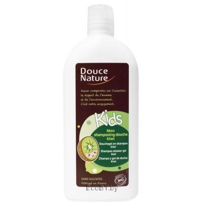 Douce Nature Детский шампунь для волос и тела с киви, 300 мл