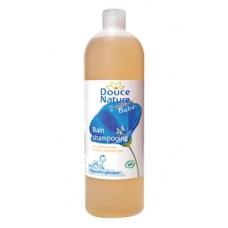 DOUCE NATURE Детский шампунь для волос и тела Биоорганический, 1л
