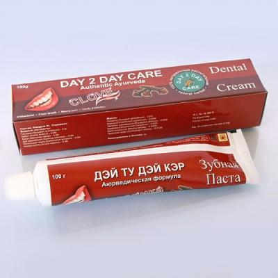 Day 2 Day Care Зубная паста (гвоздика), 100 гр