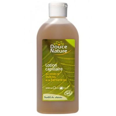 Douce Nature Лосьон от перхоти и выпадения волос с экстрактом самшита и репейника, 200 мл.