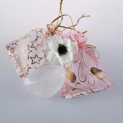 Tawas Crystal. Кристалл супер-мини «Travel» в подарочном мешочке из органзы, 50гр.