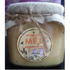 Натуральный мёд с домашней пасеки, 400 мл
