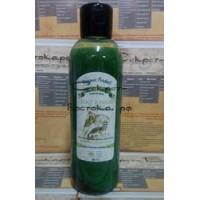 East Magic Шампунь-зелёная эмульсия укрепление луковиц на усьме для отращивания волос с маслом макадамии, опунции и орхидеи BINT RAVANI, 200 мл