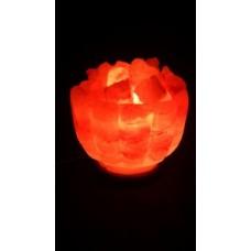 STAY GOLD Соляной светильник Ваза с камнями с диммером