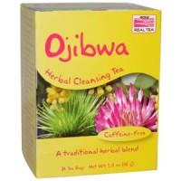 Now Foods Настоящий чай оджибве, без кофеина, 24 пакетика, 1.5 унций (42 г)