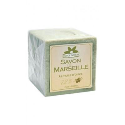 DOUCE NATURE Биоорганическое мыло Марсельское зеленое с оливковым маслом, 300 г
