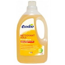 ECODOO Многофункциональное чистящее средство с органическими маслами живицы, лимона и манго, 1,5 л