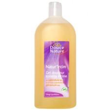 Douce Nature Мягкий гель для интимной гигиены с календулой и эфирным маслом герани, 400 мл