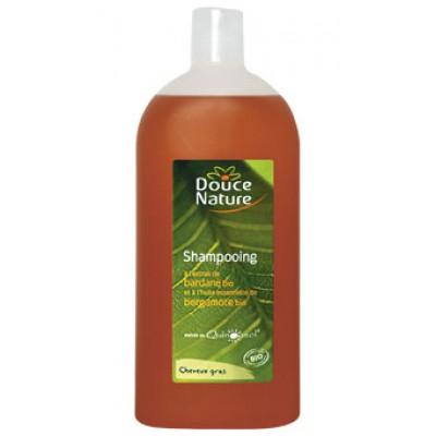 Douce Nature Шампунь для жирных волос с репейником, 300 мл