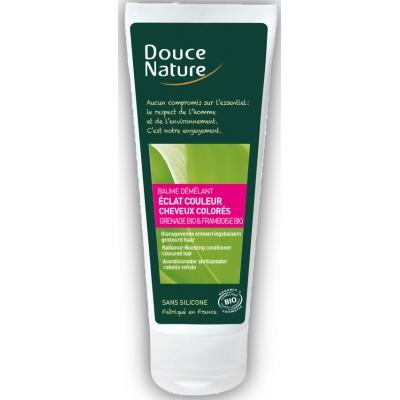 DOUCE NATURE Кондиционер для окрашенных волос и придания блеска, 300 мл