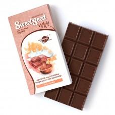 Шоколад молочный на меду на основе кэроба, 85 г