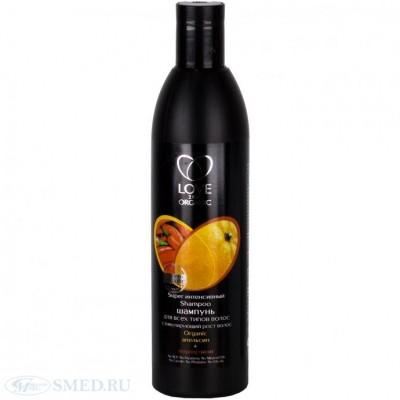 """LOVE 2MIX ORGANIC Шампунь для всех типов волос """"Интенсивный"""", 360 мл."""