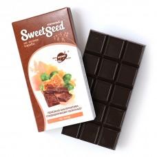 Шоколад темный на меду на основе кэроба, 85 г