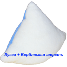 "Подушка ""Лето-зима"" (лузга гречихи и верблюжья шерсть), 40х60 см."