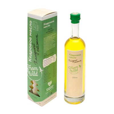 From willd Кедровое масло холодный отжим, 250 мл