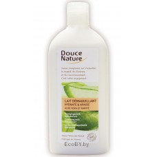 Douce Nature Биоорганическое  очищающее молочко Демакияж с экстрактом овса, 300 мл