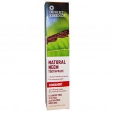 Desert Essence Натуральная зубная паста с корицей, Cinnamint, 176 г