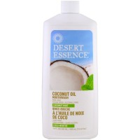 Desert Essence Ополаскиватель для полости рта с кокосовым маслом Кокос и мята, 480 мл