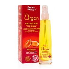 DOUCE NATURE Натуральное органическое масло Argan, 100 мл