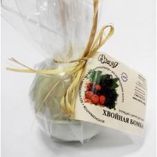 МИ&КО Бомбочка бурлящий шарик для ванны Хвойная бомба, 185г