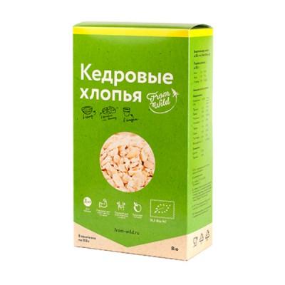 From wild Кедровые хлопья-жмых, 500 г