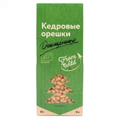 From Wild Кедровые орешки очищенные, 80 г