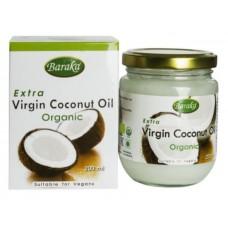 BARAKA Масло кокосовое премиум органик, 200 мл, стекло