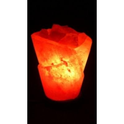 STAYGOLD Соляной светильник Роза с диммером