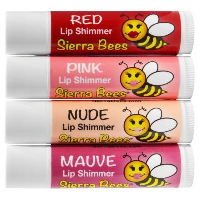Sierra Bees Тонирующий бальзам для губ, на выбор 4 оттенка