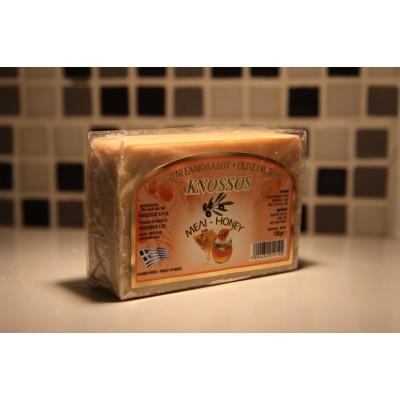 KNOSSOS Мыло оливковое c мёдом, 100 г