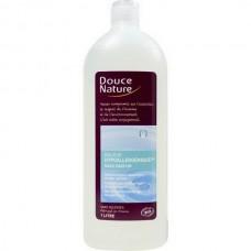 Douce Nature Гиппоаллергенный гель для душа с органической розовой водой, 1 л