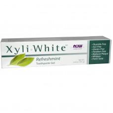 Now Foods Гель-паста Xyli-White освежающая мята, 181г