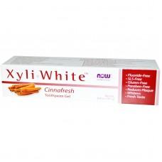 Now Foods Освежающая зубная гель-паста Xyliwhite, 181г