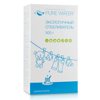 PURE WATER Экологичный отбеливатель, 500 г