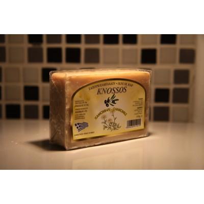 KNOSSOS Мыло оливковое c экстрактом ромашки, 100 г