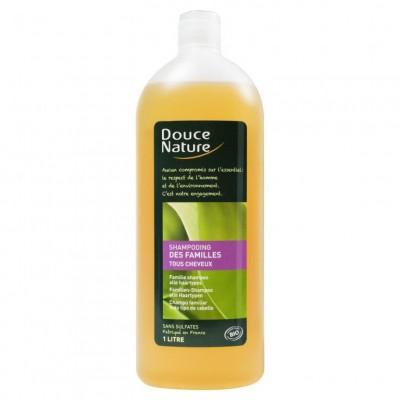 DOUCE NATURE Шампунь с медом и экстрактом крапивы, 1 л
