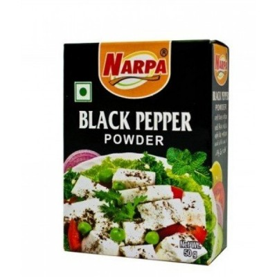 Narpa Перец черный молотый, 50 г