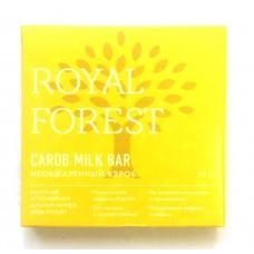 ROYAL FOREST Шоколад из необжаренного кэроба, 75 г